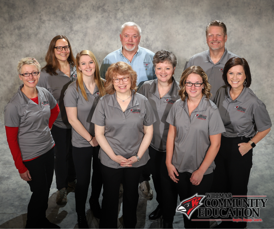 Willmar Comm Ed staff