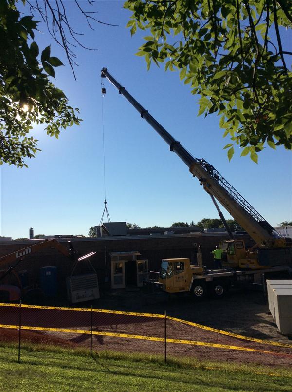 Construction Photos / Middle School