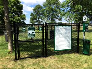Willmar dog park entrance